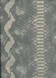 Leatheritz Wallpaper Python 03-Sterling By Wemyss Covers Wallcoverings